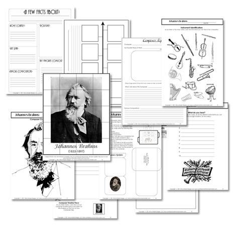 Educational FREEBIE: World's Greatest Composers Unit on