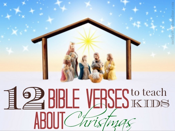 12 bible verses to