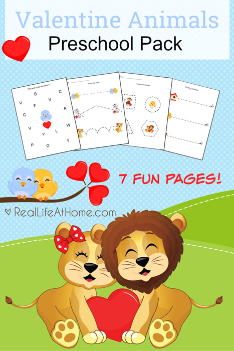 Educational FREEBIES 10 Valentines Day Printables And