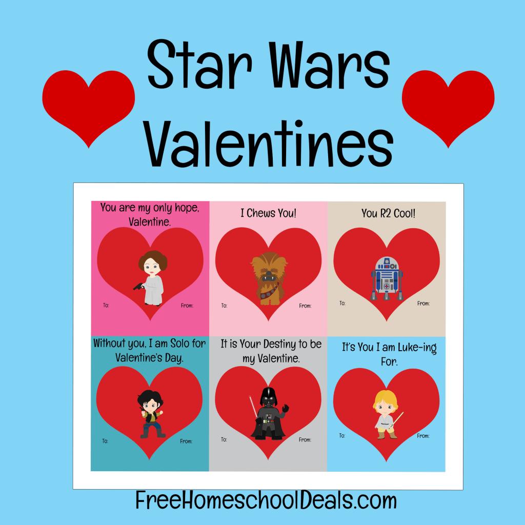 Free Star Wars Printable Valentines