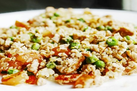 Ground Turkey Quinoa and Brown Rice