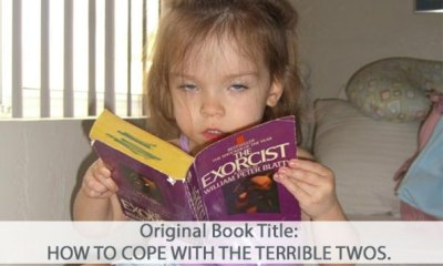 Funny Girl Reading The Exorcist