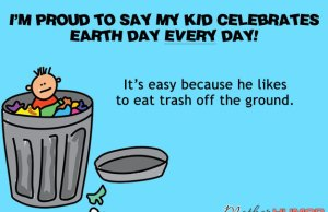 Parenting eCard Earth Day