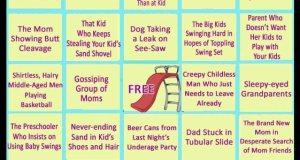 Park Bingo for Parents