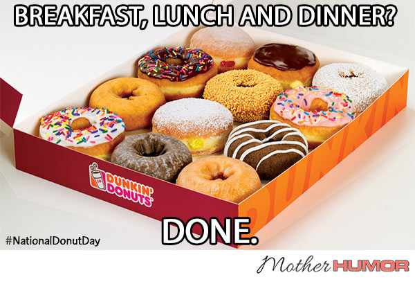 National Donut Day for Moms