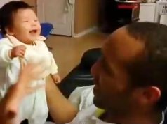 picture of baby laughing
