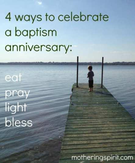 baptism anniversary