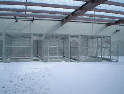 "Outdoor ""recreation cages"" at ADX"