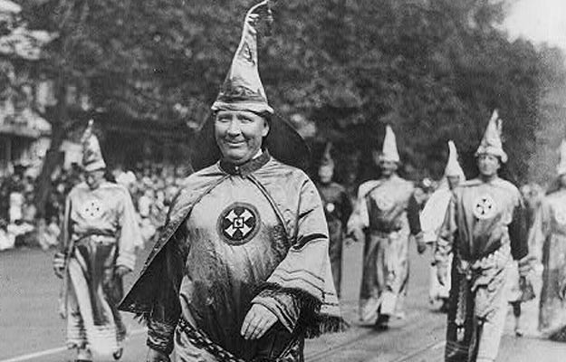 Just your friendly neighborhood Imperial Wizard! Unknown/Library of Congress