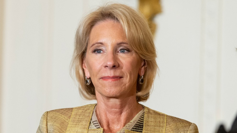 Betsy DeVos Wont Go After For Profit College Ripoffs