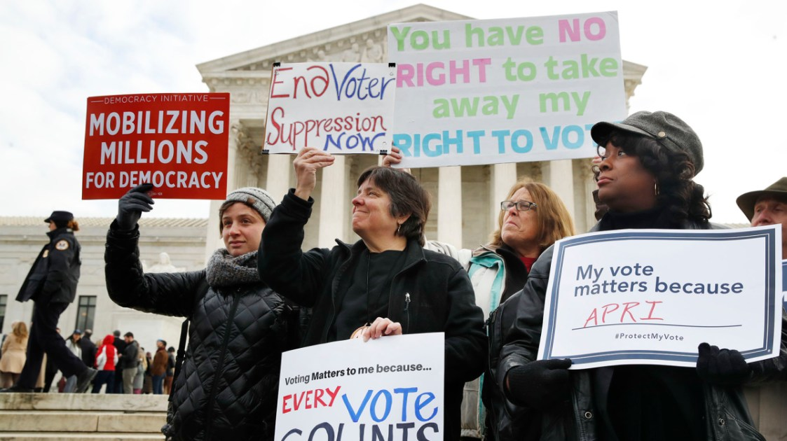 Supreme Court Deals A Blow To Voting Rights And Invites