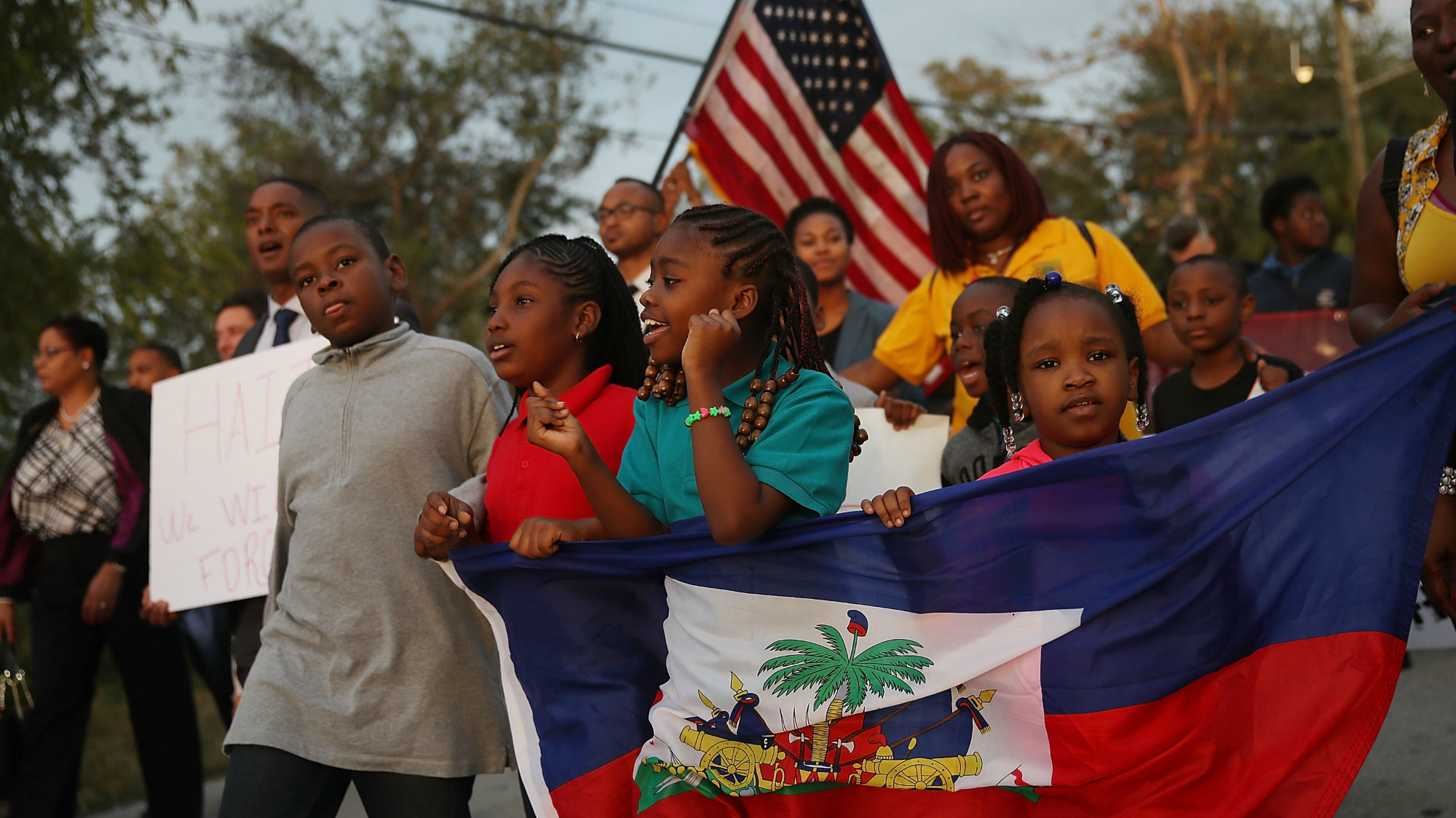 Image result for Haitian Citizens leaving country