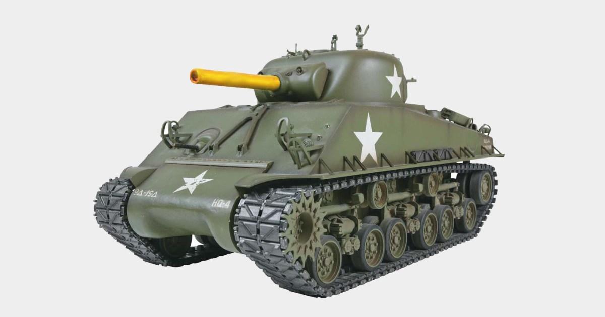 trump orders sherman tank