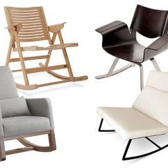 Modern Nursery Rocking Chair Chairs Living Room Rockers The Not So
