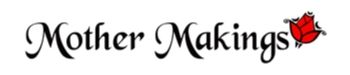 Mother Makings Logo with stylized red rose