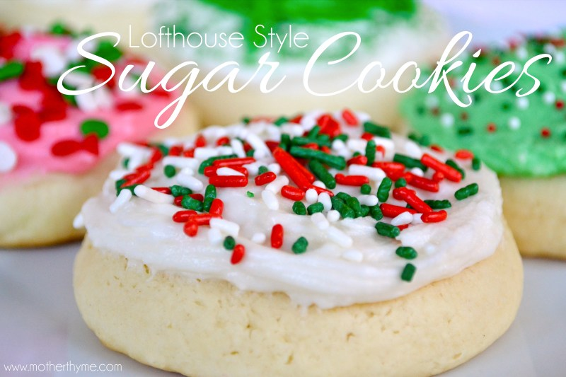 Lofthouse Sugar Cookies - www.motherthyme.com