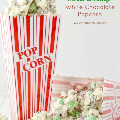 White Chocolate Popcorn and Giveaway