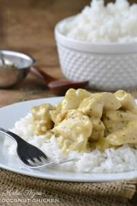 Coconut Chicken | www.motherthyme.com
