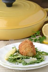 Chicken Milanese Meatballs | www.motherthyme.com