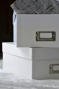 Organize Your Memorabilia   www.motherthyme.com