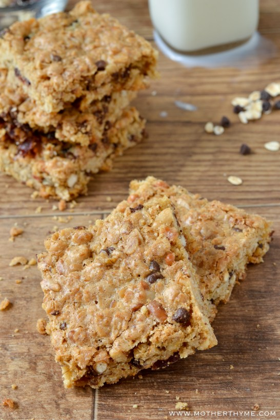Homemade Granola Bars - Mother Thyme