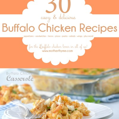 30 Buffalo Chicken Recipes