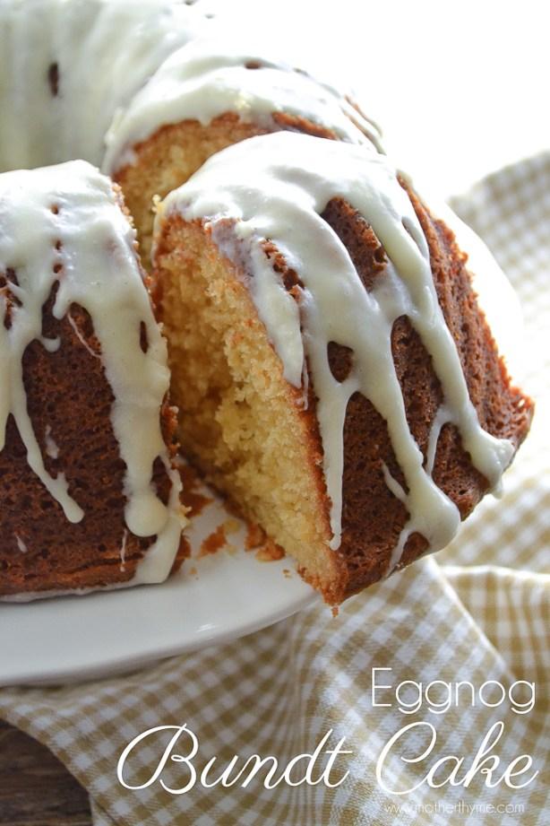 Eggnog Bundt Cake | www.motherthyme.com