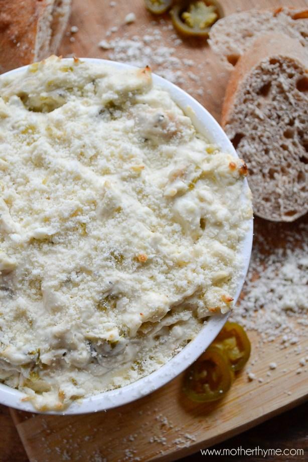 Jalapeño Popper Chicken Dip | www.motherthyme.com