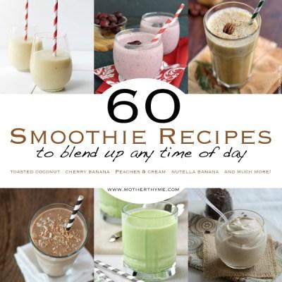 60 Smoothie Recipes
