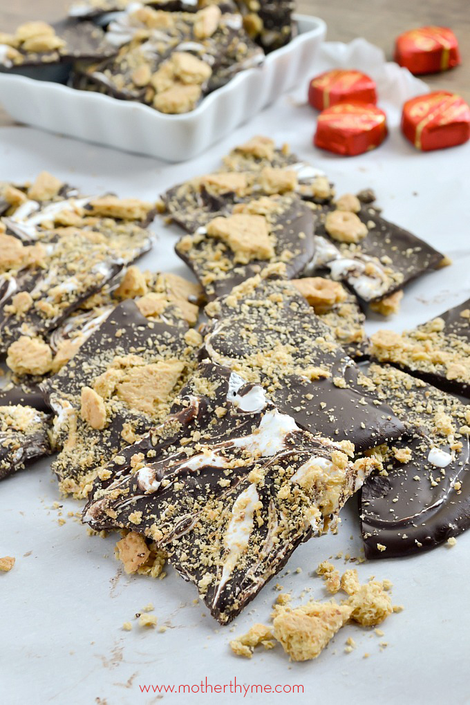S'mores Bark   Mother Thyme