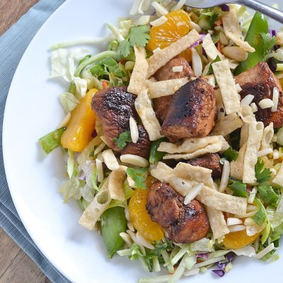 Asian Sesame Chopped Chicken Salad (+ Dole back-to-school prize package!)