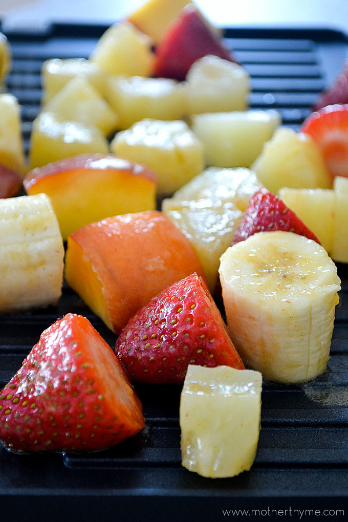 Cinnamon Glazed Fruit