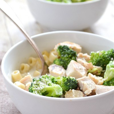 Chicken Broccoli Alfredo Soup