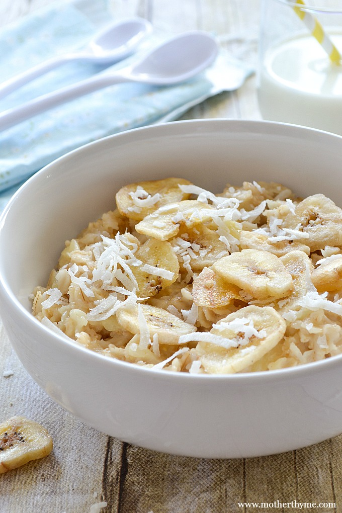 Coconut and Pineapple Oatmeal