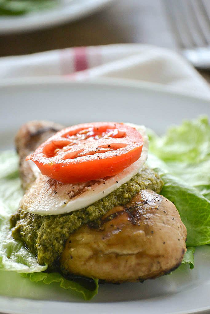 Grilled Caprese Chicken  Mother Thyme