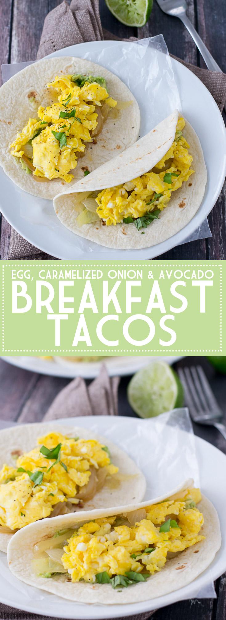 Breakfast Tacos | www.motherthyme.com