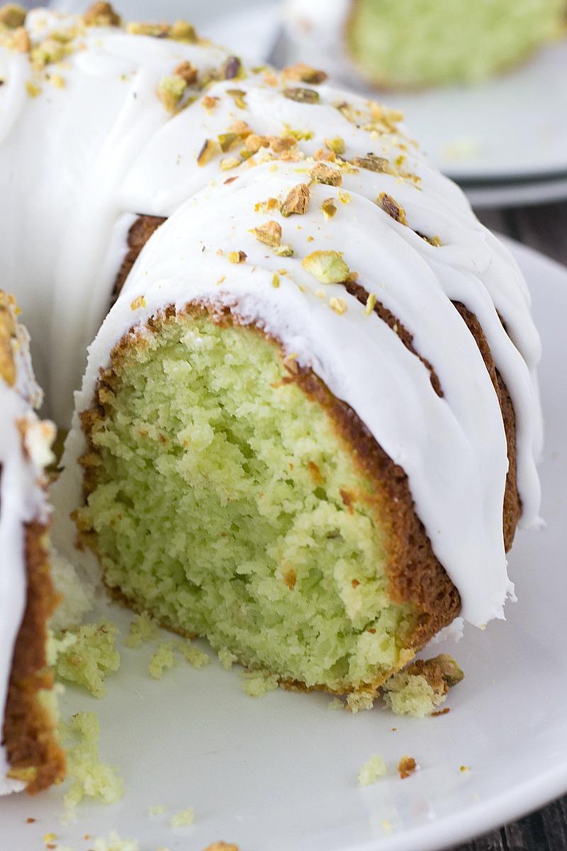 Pistachio Bundt Cake | www.motherthyme.com