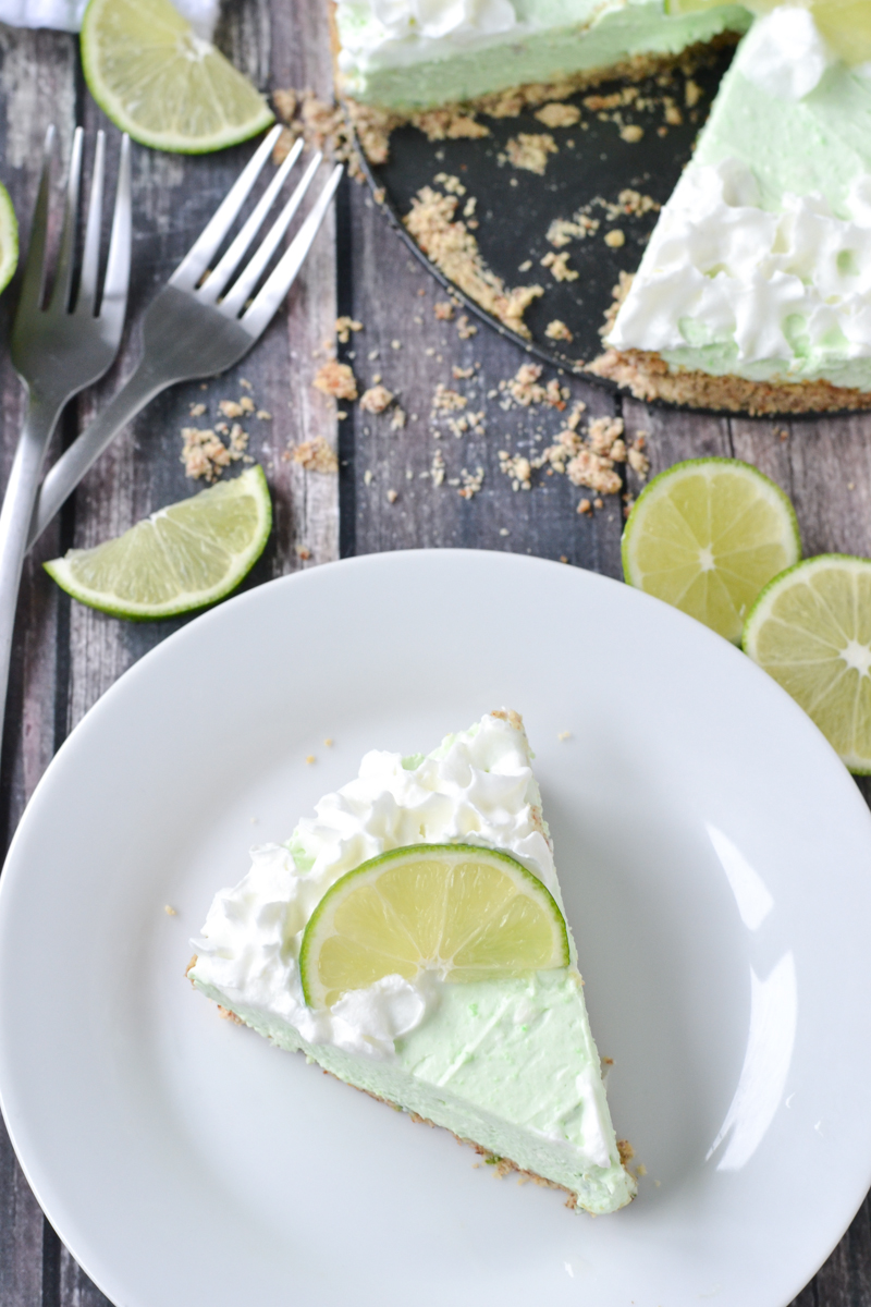 Low Carb Key Lime Cheesecake | www.motherthyme.com