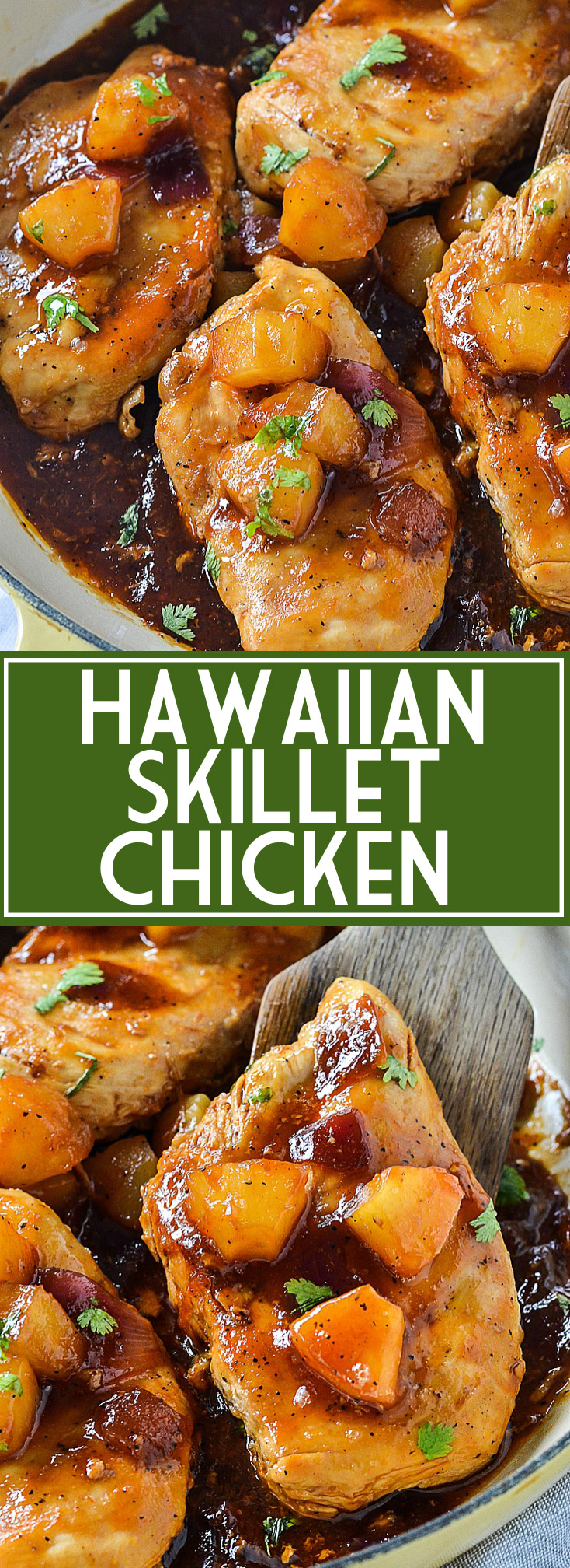 Easy Hawaiian Skillet Chicken | www.motherthyme.com