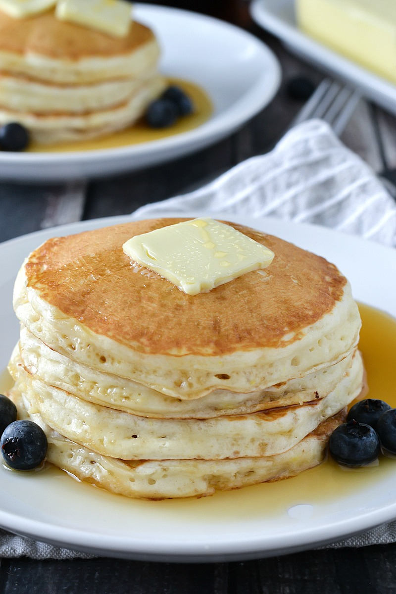 Fluffy Buttermilk Pancakes Mother Thyme