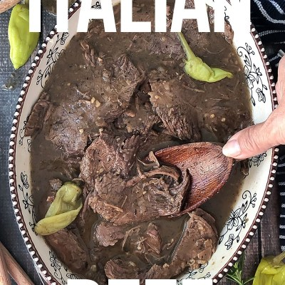 Slow Cooker or Instant Pot Italian Beef