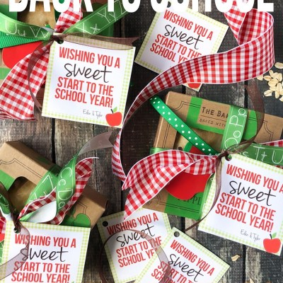 Back to School Printable Tags
