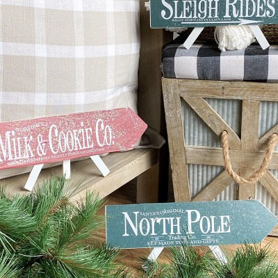 DIY Christmas Arrows – Free Printables