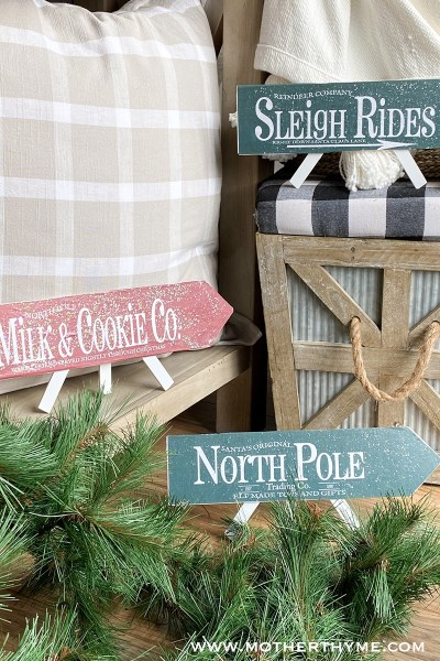 DIY CHRISTMAS ARROWS