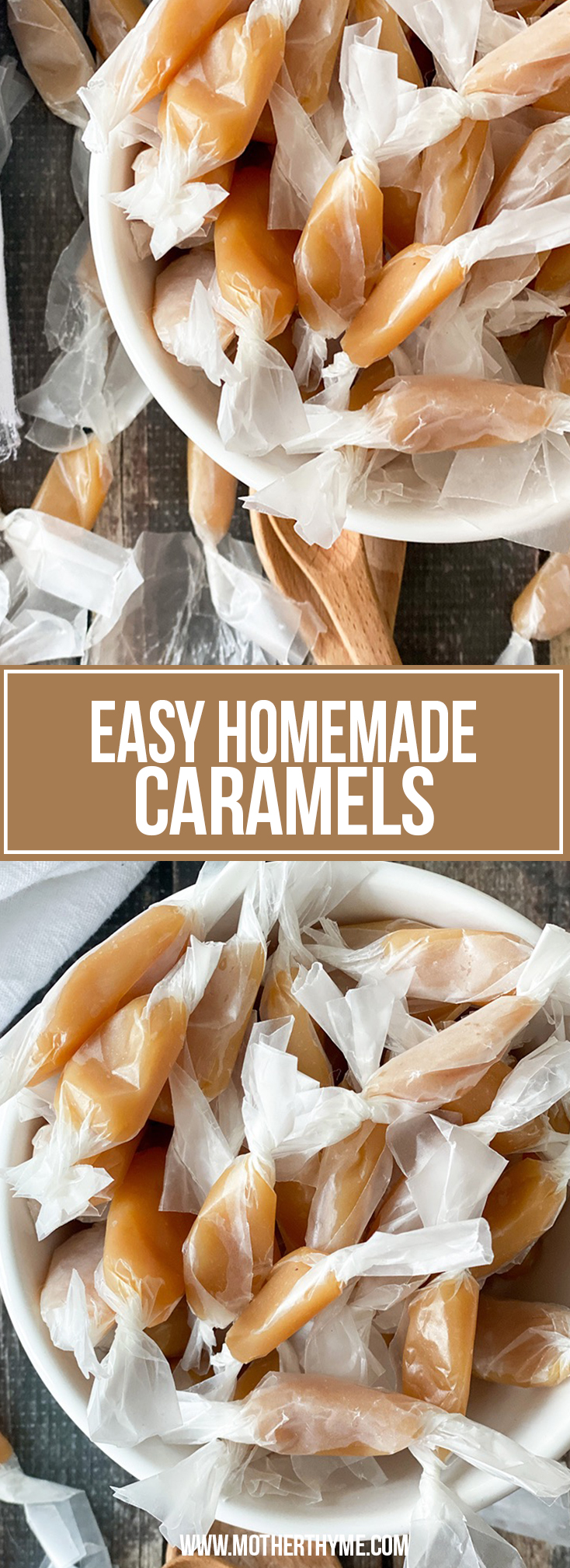 EASY HOMEMADE CARAMELS
