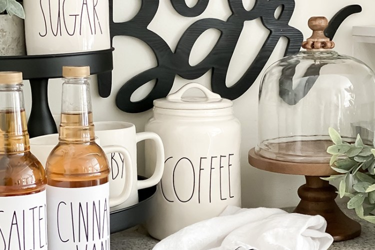 FARMHOUSE INSPIRED COFEE SYRUP LABELS - FREE PRINTABLES