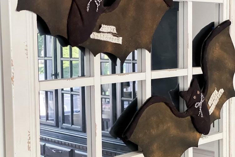 DIY DOLLAR TREE HALLOWEEN BAT MAKEOVER