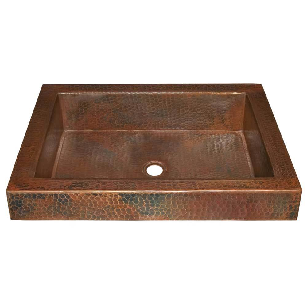 tatra bathroom sink in antique copper