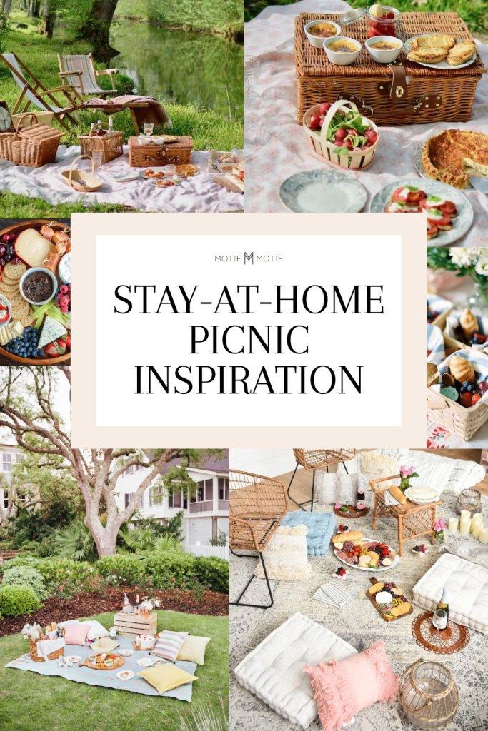 pin stay at home picnic inspiration