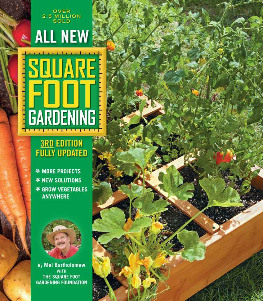 all new square foot gardening book